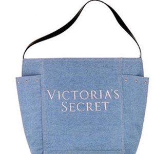 Victoria Secret Denim tote